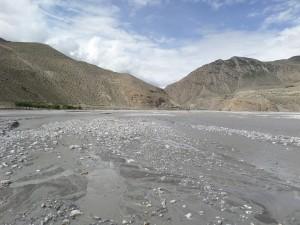 The Kali-Gandaki River at Kagbeni