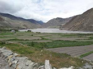 Kali-Gandaki River Valley, Kagbeni, Mustang, Nepal