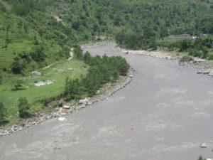 Kali-Gandaki on the way to Jomsom
